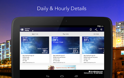 AccuWeather - screenshot thumbnail