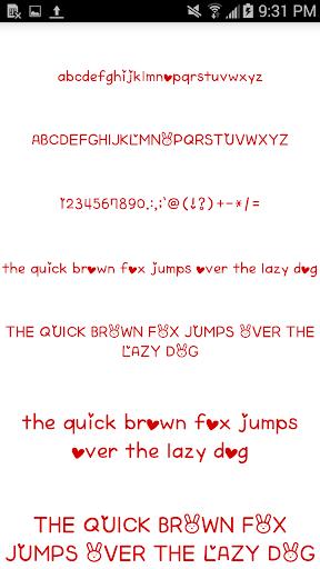 Color Fonts for FlipFont #6 3.22.0 screenshots 5