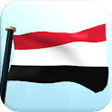 Yemen Flag 3D Live Wallpaper icon