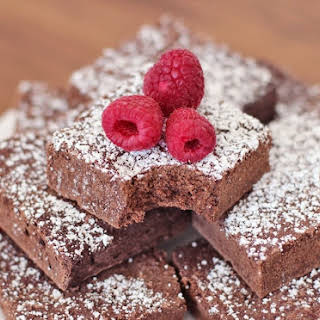 Healthy Fudgy Cocoa Brownies.