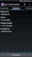 Screenshot of Call + Voice Recorder Pro