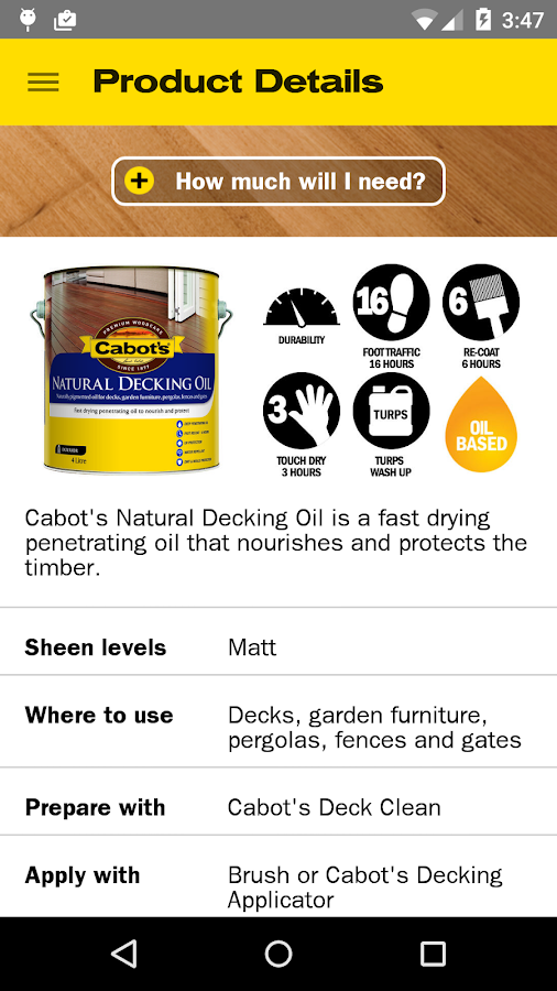 Cabot's Woodcare Solutions- screenshot