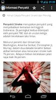 Screenshot of Informasi Nama Penyakit