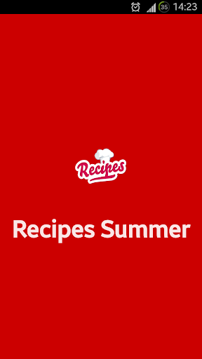 Recipes Summer