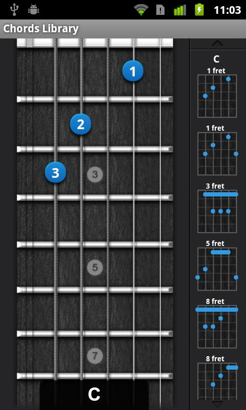 Ultimate Guitar Chords - screenshot