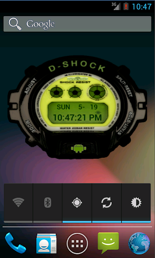 Droid Shock Watch