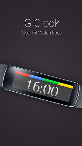 G Clock for Gear Fit