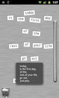 Screenshot of Refrigerator Poetry - Free