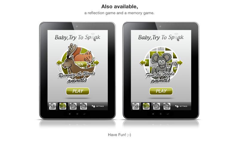 Baby, Try To Speak 2- screenshot