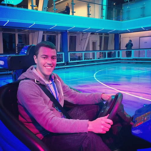 bumper - Bumper cars at sea? Legal road rage? Against that other guest who took the last dinner roll? The SeaPlex offers the perfect outlet to satisfy our need to smash into things. For young and old alike, you're  guaranteed a thrilling time with Quantum's fleet of bumper cars.