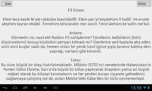 Namaz Sure ve Duaları- screenshot thumbnail
