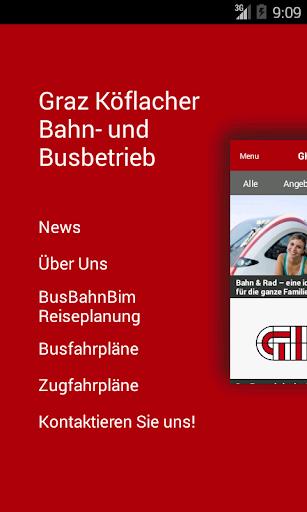 GKB: Graz-Köflacher Bahn Bus