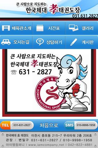 한국체대 효 태권도 - screenshot