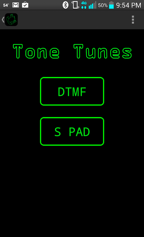 Tone Tunes- screenshot