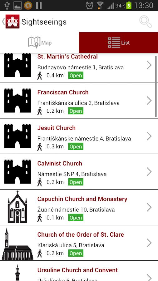 Bratislava Downtown - screenshot