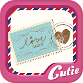 Stamp sticker TextCutie