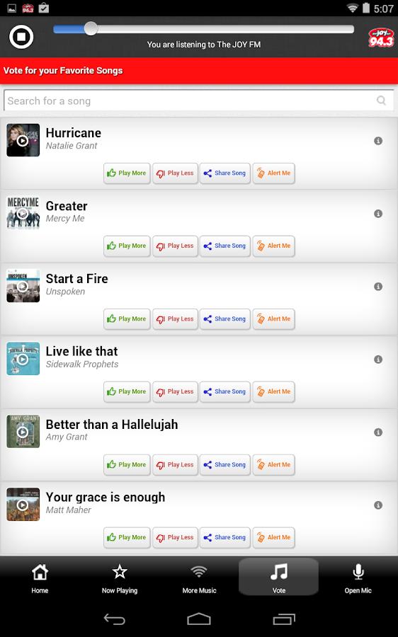 The JOY FM Alabama - screenshot