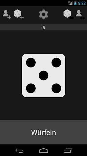 Würfel Zahlengenerator