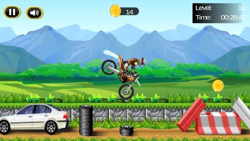 特技自行车赛车;赛; Stunt Bike Race