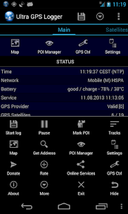 Ultra GPS Logger- screenshot thumbnail