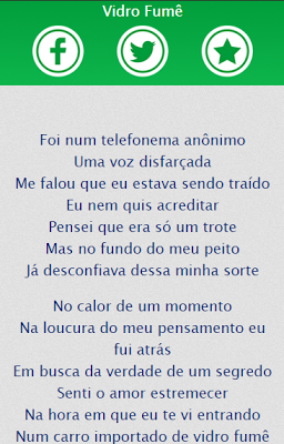 Bruno e Marrone Letras Musicas - screenshot