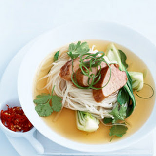 Caramelised Pork With Five-spice Broth.