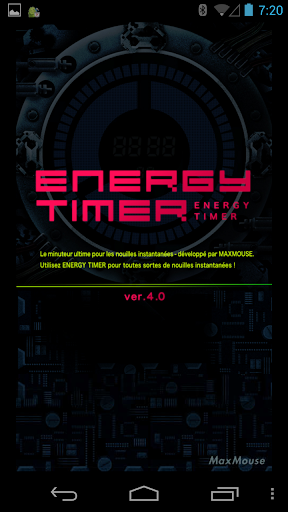Energy Timer(French/English) 4.0.1 Windows u7528 1
