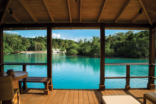 GoldenEye-Resort-Jamaica - The view from Golden Eye Resort, nestled among tropical forests and lush gardens in Oracabessa, northeast Jamaica, where Ian Fleming crafted his James Bond novels. It's a bit of a haul for a cruiser, unless you're doing a pre- or post-stay in Jamaica.