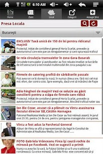 PresaOnline, Stiri din Romania- screenshot thumbnail