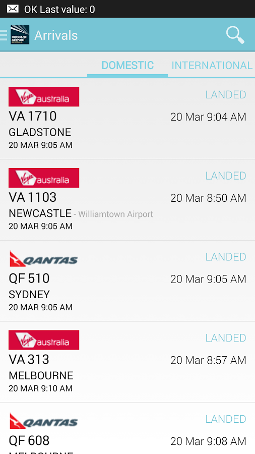Brisbane Airport - screenshot