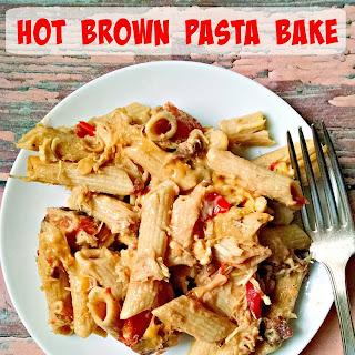 Hot Brown Pasta Bake