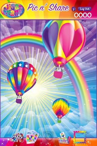 Lisa Frank Pic n' Share - screenshot