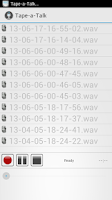 Screenshot of Tape-a-Talk Voice Recorder