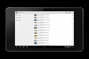 Screenshot of StoreJet Cloud
