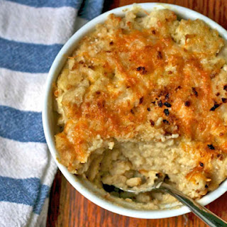 Cauliflower Macaroni and Cheese.