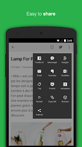 Feedly. Your news reader. v20.1.1