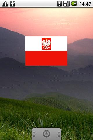 Polish Flag Widget- screenshot