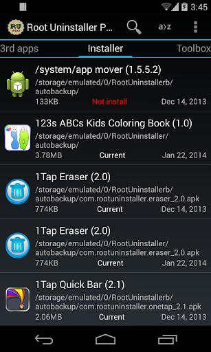 Root Uninstaller 8.5 screenshots 4