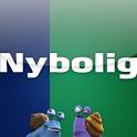 """Ny bolig?"" med Nybolig icon"