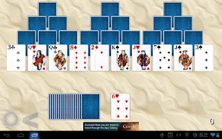 Screenshot of TriPeaks Solitaire HD