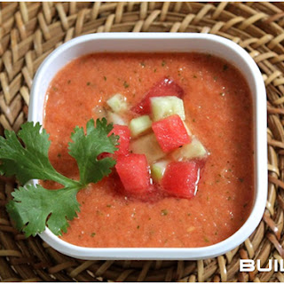 Watermelon Gazpacho Recipe That's Easy To Prepare.