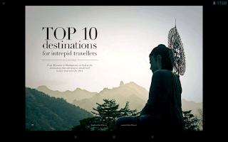 Screenshot of Vacations & Travel