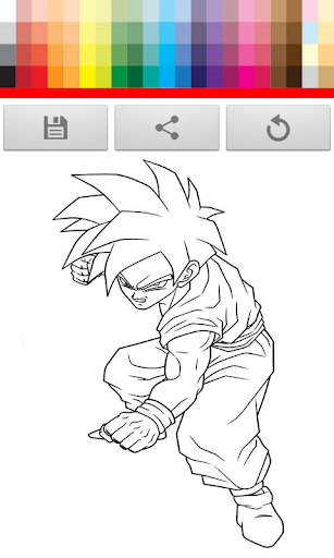 D Ball Z Coloring