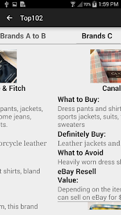 Top 101 Clothing Brands- eBay