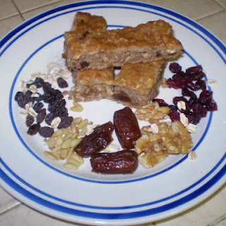 Banana-Oatmeal Breakfast Bars Recipe