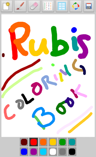 Rubis Coloring Book