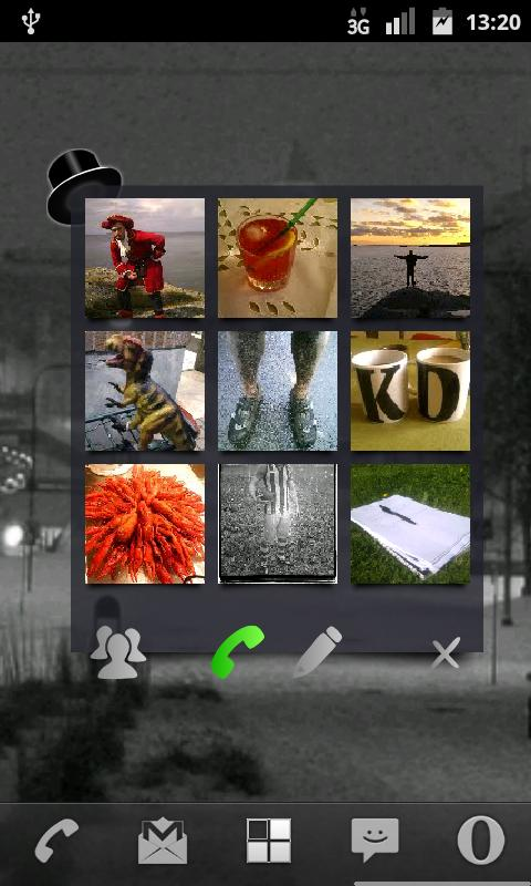 Dapper Speeddial Widget - screenshot