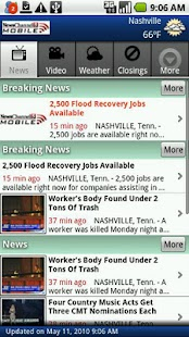 NewsChannel 5 Mobile - screenshot thumbnail