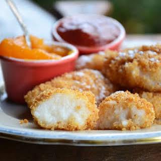 Coconut Grits Dumplings.