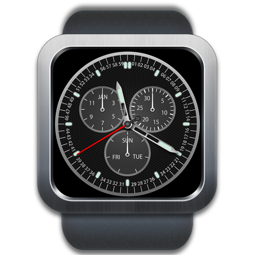 A32 WatchFace for Android Wear- screenshot